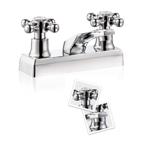 Classical two handles mixer
